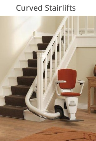 Kudos Stairlifts - Curved Stairlifts