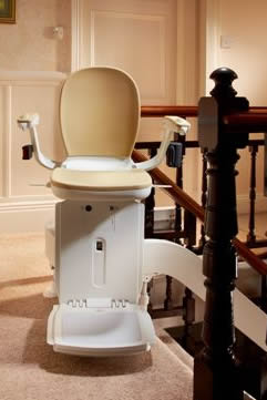 180 curved stairlift